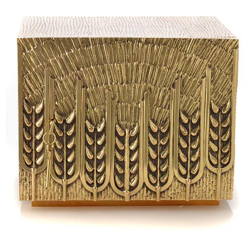 Sacrário Molina latão trigo 6