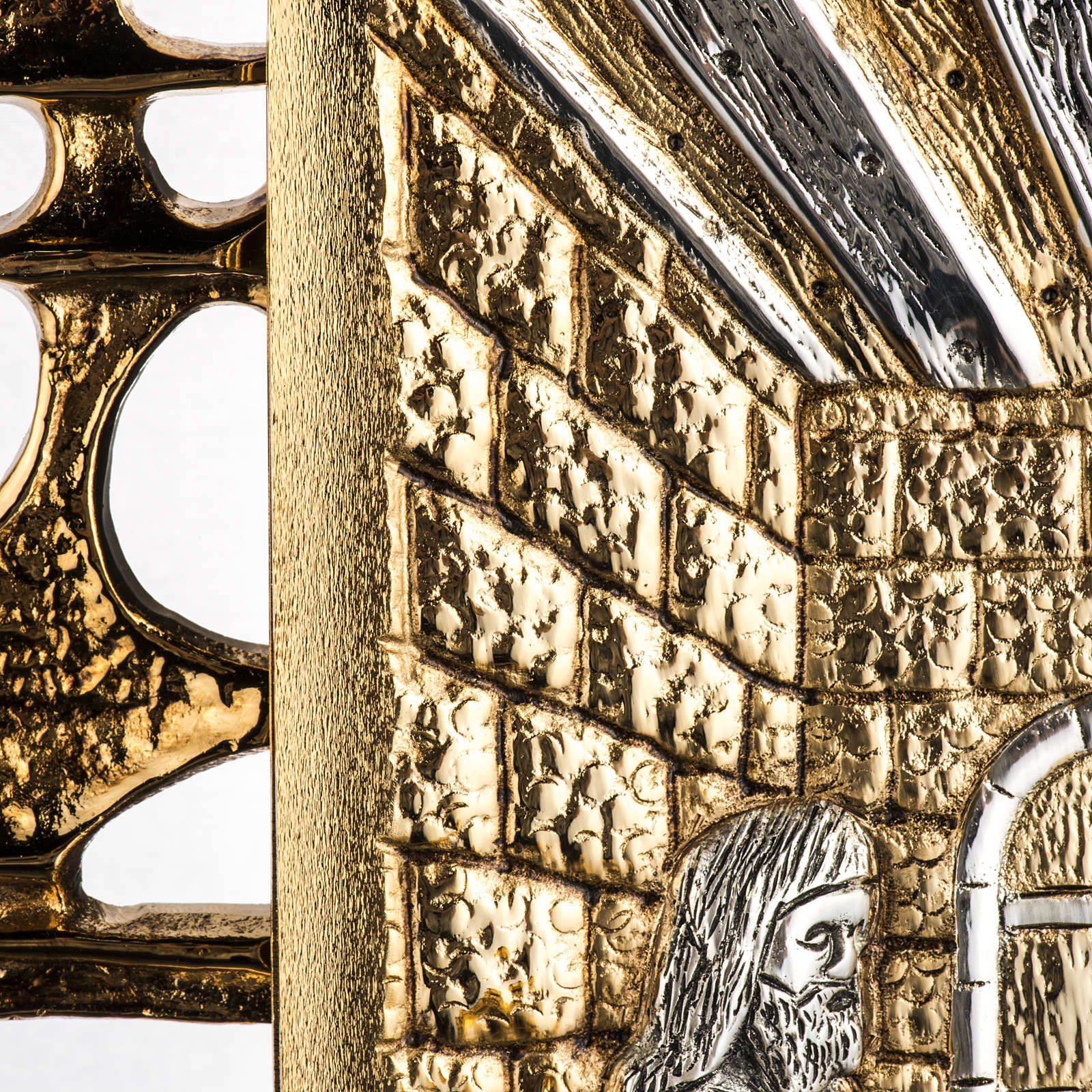 Tabernacle laiton fondu Souper à Emmaus 4