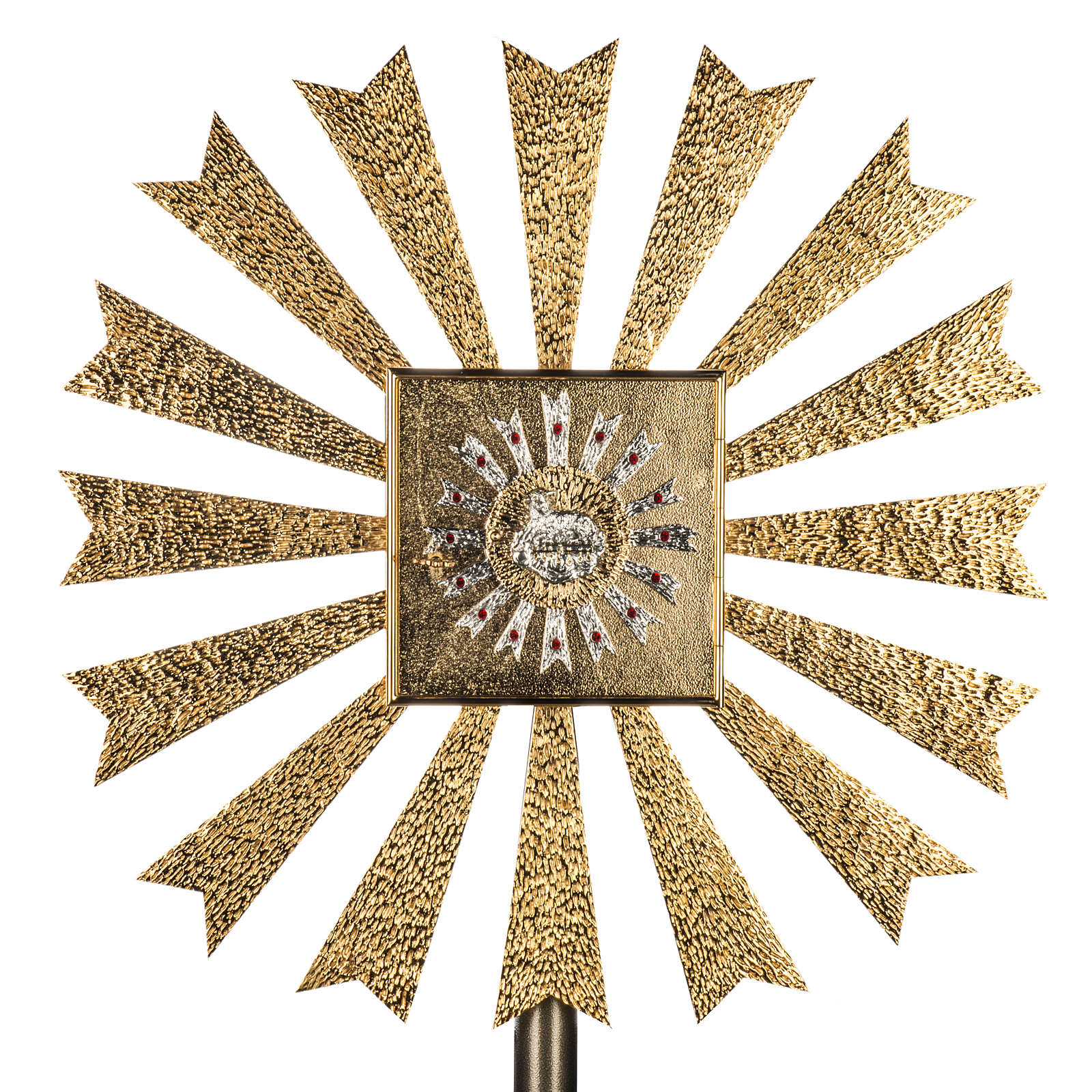 Wall Tabernacle with Lamb of God and halo of rays 4