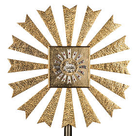 Wall Tabernacle with Lamb of God and halo of rays s1