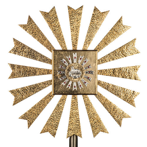 Wall Tabernacle with Lamb of God and halo of rays 1