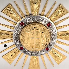 Sagrario de altar en bronce fundido ventana  adoración s2