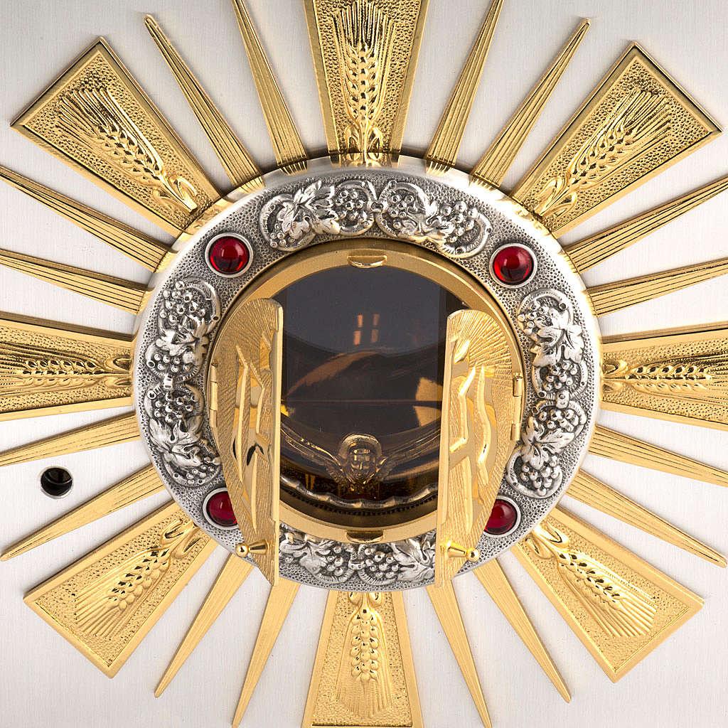 Tabernacle d'autel bronze fenêtre pour adoration 4