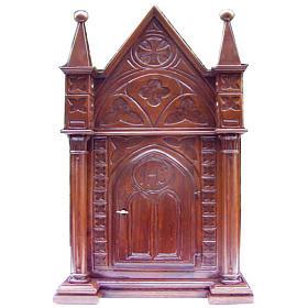 Tabernacle in wood 80x50x35cm s1
