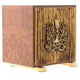Tabernacolo legno similradica fusione ottone Calice s3