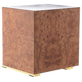 Tabernacolo legno similradica fusione ottone Buon Pastore s5