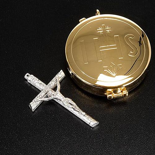 Cross pyx and burse with purificator 2