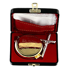 Pyx case with IHS cross pyx and purificator s1