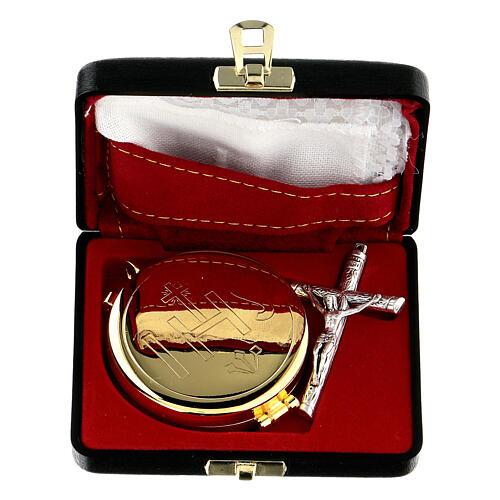 Pyx case with IHS cross pyx and purificator 1