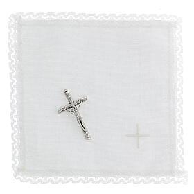 étui rigide pour custode IHS avec croix et purificatoire s3