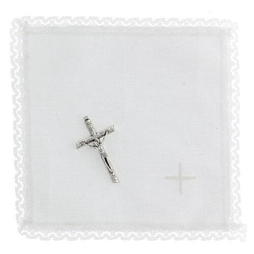 étui rigide pour custode IHS avec croix et purificatoire 3