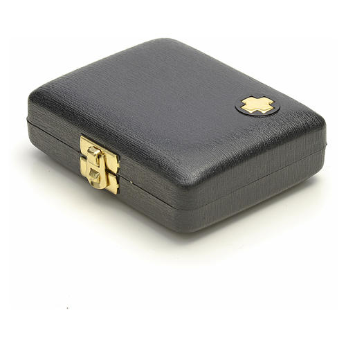 Pyx case with IHS cross pyx and purificator 6