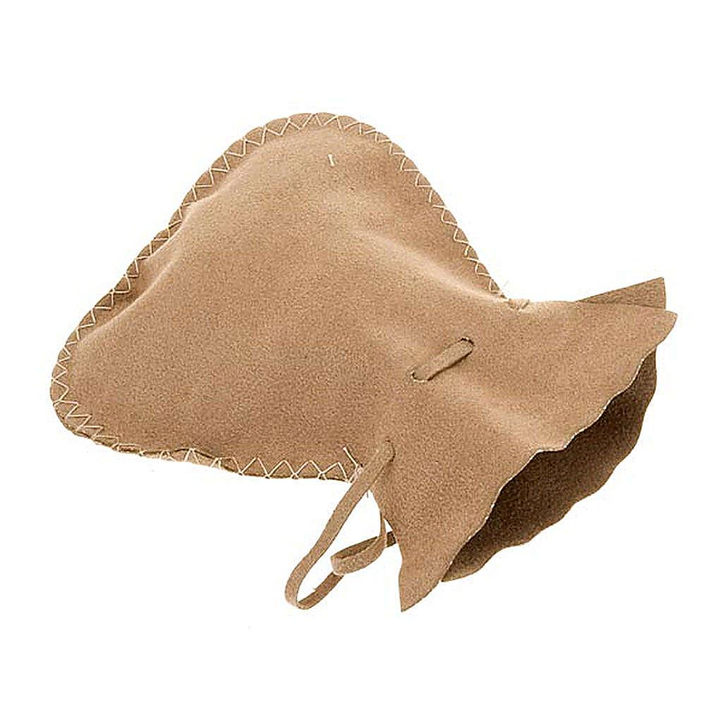 Pyx burse in suede leather bag model 3