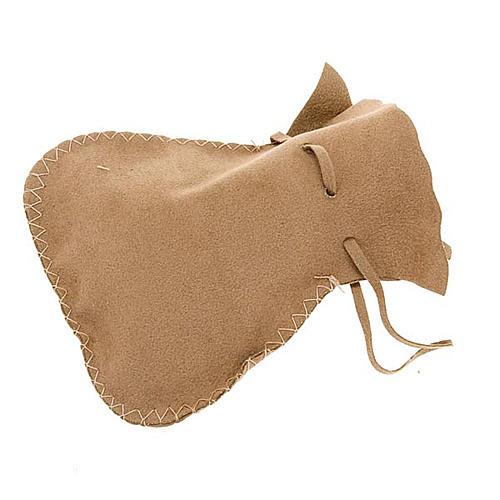 Pyx burse in suede leather bag model 2