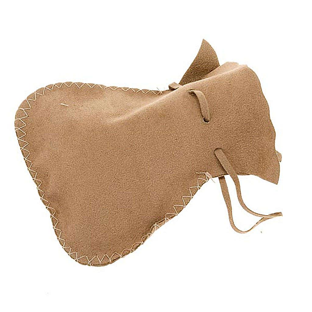 Portateca sacchetto scamosciato morbido con cordino 3