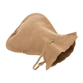 Portateca sacchetto scamosciato morbido con cordino s1