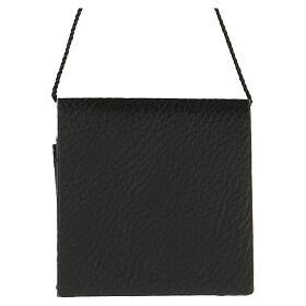 Portateca similpelle nera senza teca s3