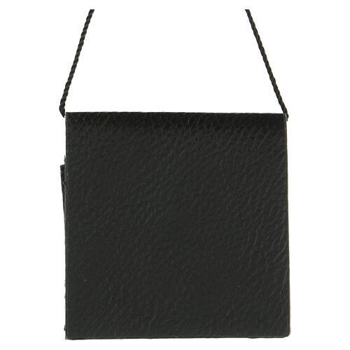Portateca similpelle nera senza teca 3