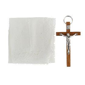 étui  en cuir pour custode et croix s6