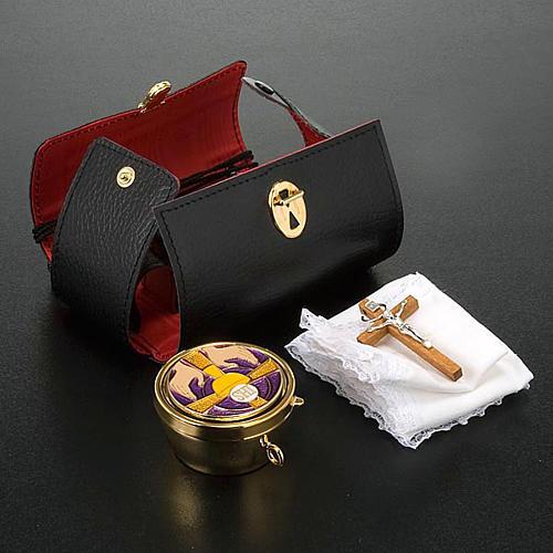 Enveloppe en cuir et custode 4