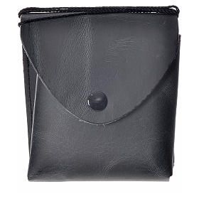 Pyx case in leather, 10 cm, black s5