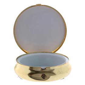 Portaviático Espigas, Cáliz, Pan, Uvas Placa Aluminio 5 cm s2