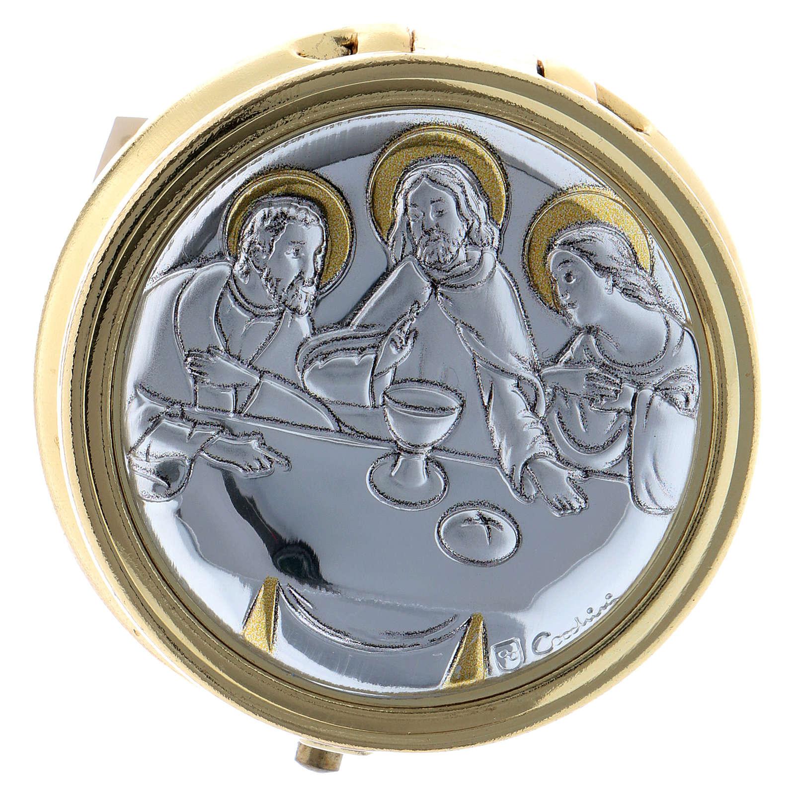 Portaviático Última Cena Placa Aluminio 5 cm 3