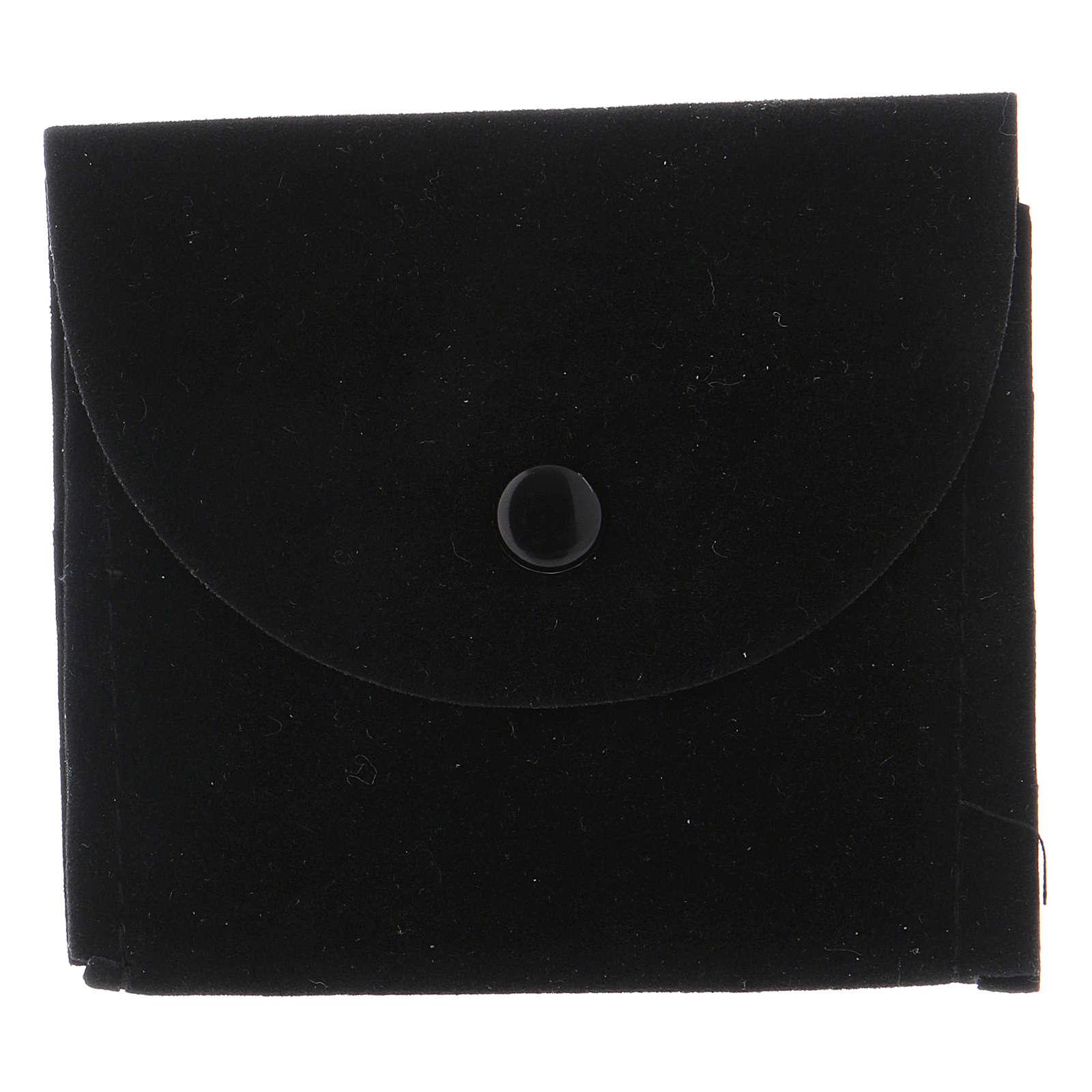 Portateca bustina scamosciata nera 3