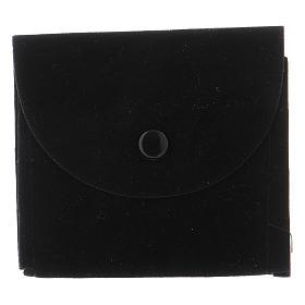 Portateca bustina scamosciata nera s1