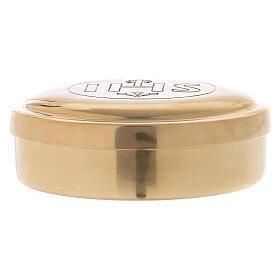 Gold plated brass pyx s2