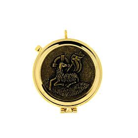 Lamb of God pyx antique bronze finish s1