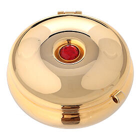 Pyx with red stone and red bag s1
