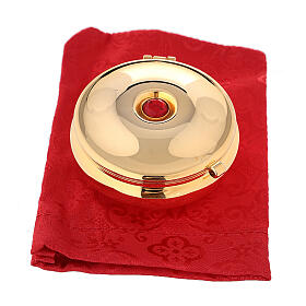Pyx with red stone and red bag s4