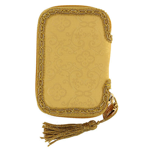 Our Lady of Guadalupe golden burse with 2 in pyx 7