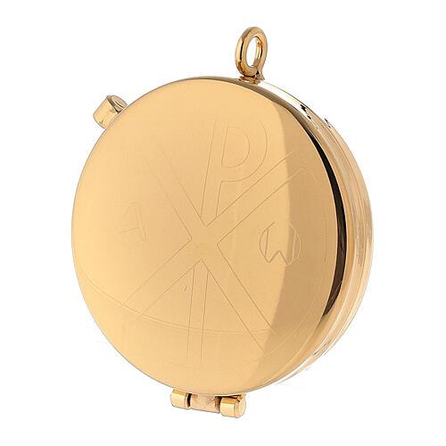 Bolsa dorada de tejido brocado con bordados 10,5x9,5 2