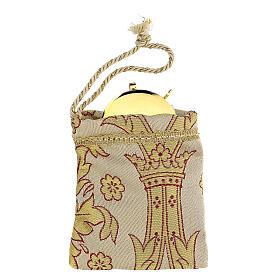Sachet pour viatique en tissu brocard custode 5 cm s1