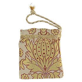 Sachet pour viatique en tissu brocard custode 5 cm s6