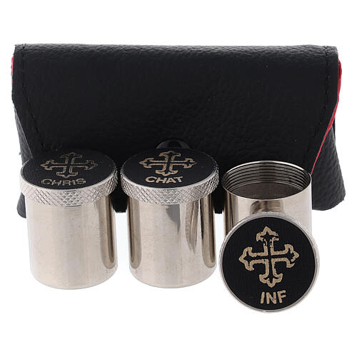 Holy oil case with INF-CHRIS-CHAT stock 2