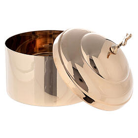 Hostbox in shiny golden brass s2