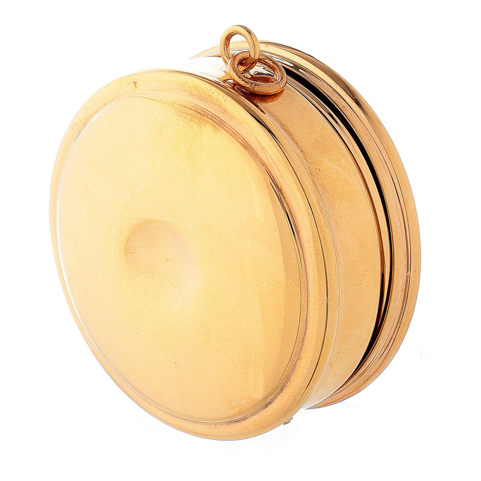 Molina Pyx in brass with 3cm diameter 3