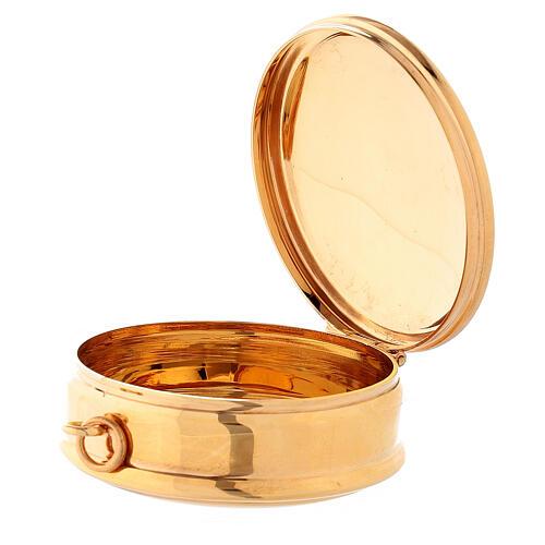 Molina Pyx in brass with 3cm diameter 2