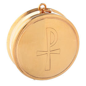 Molina Pyx in brass with 3cm diameter s1