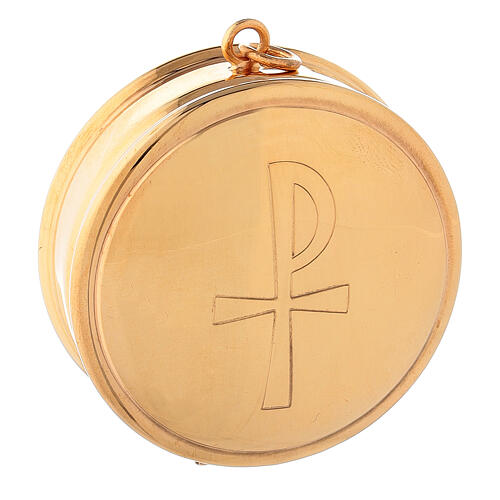 Molina Pyx in brass with 3cm diameter 1