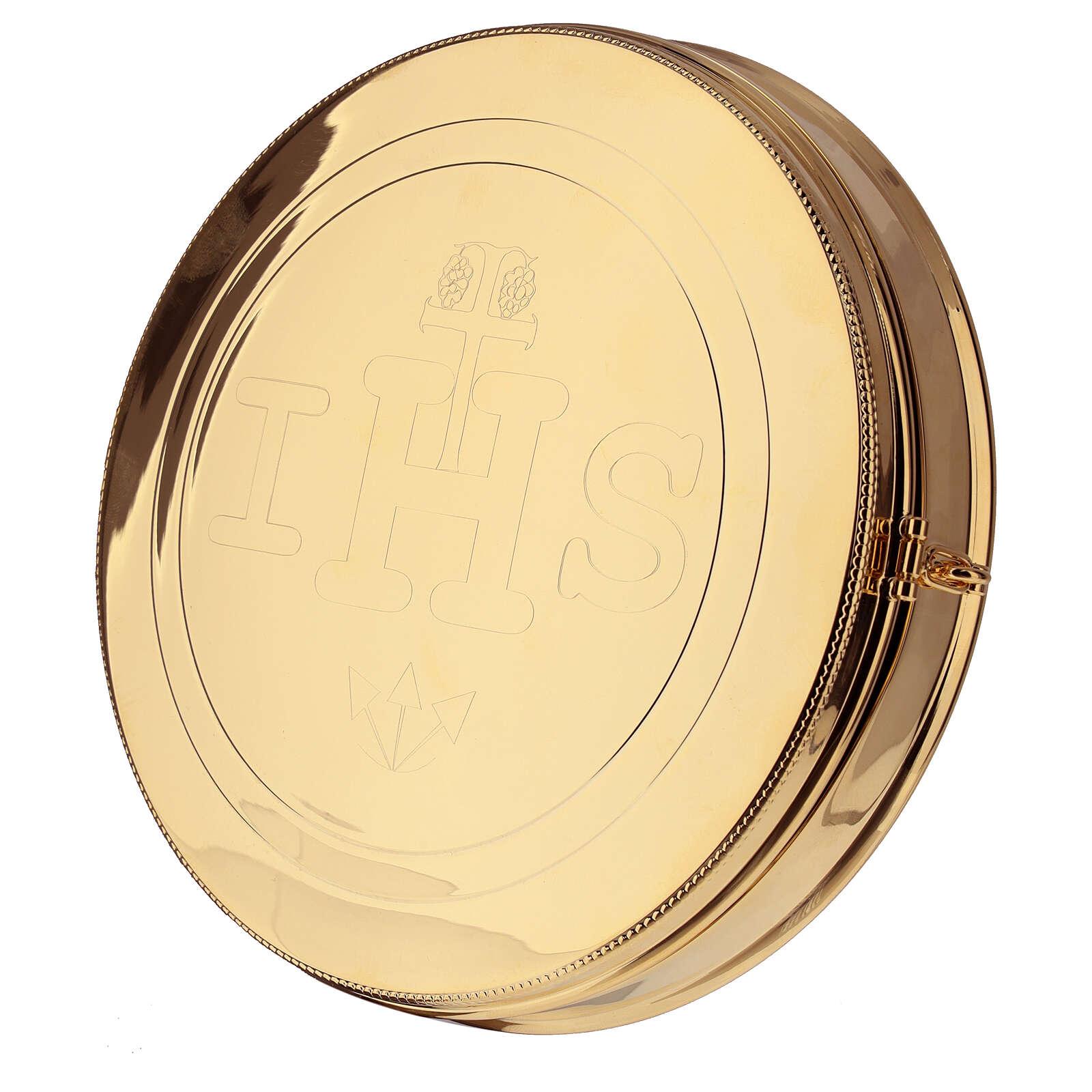 Host box for Magna Host in Golden Brass 3