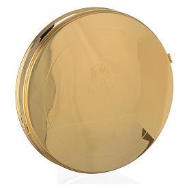 Caja para hostia Magna Latón dorado 24.5 cm s1