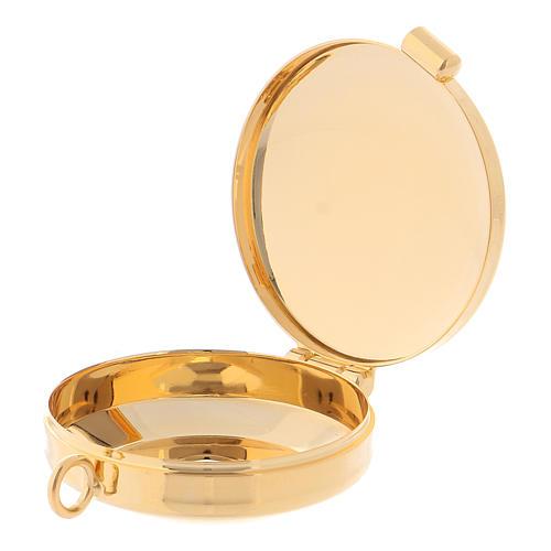 Golden brass Pyx 2