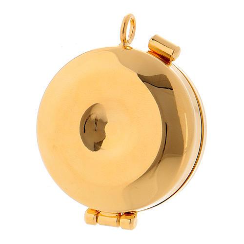 Golden brass Pyx 3