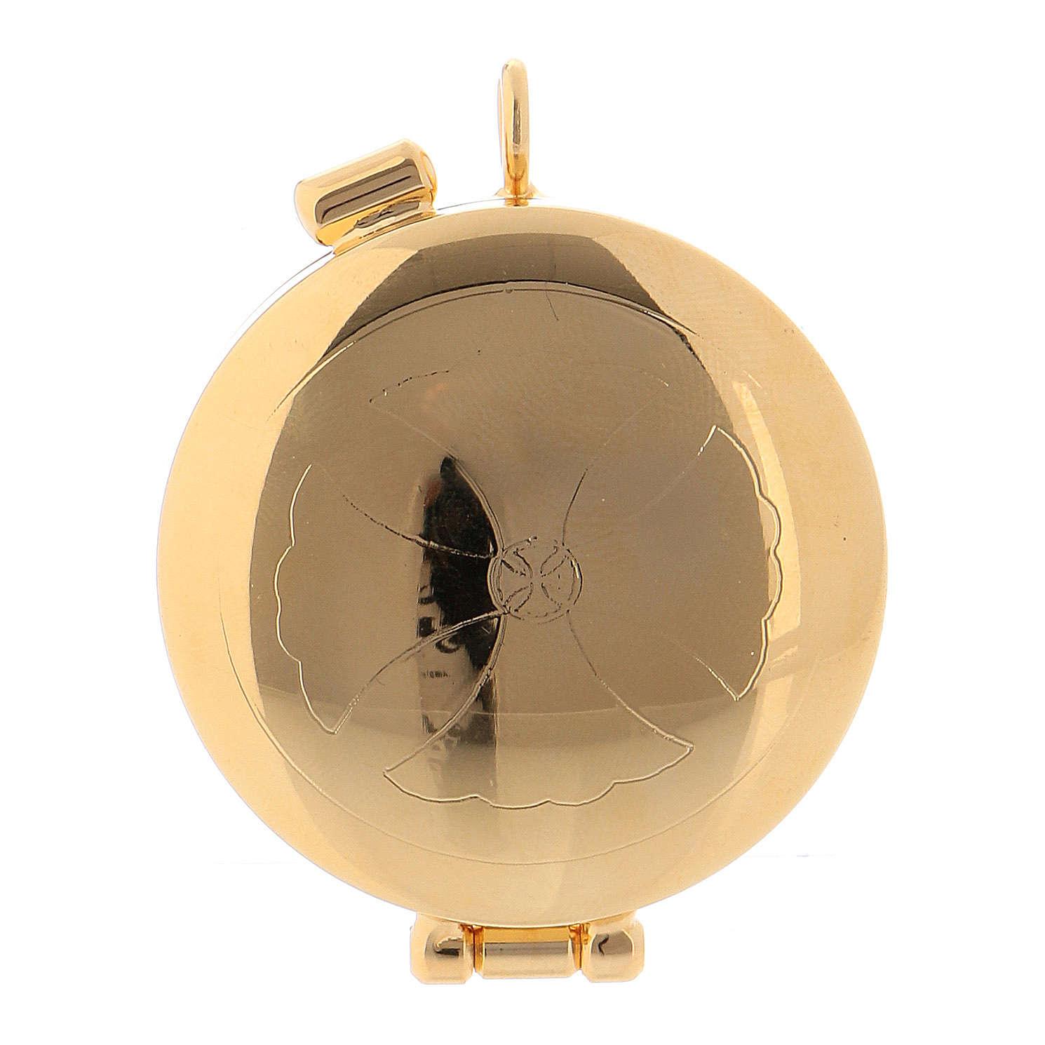 Teca mini ottone dorato 3