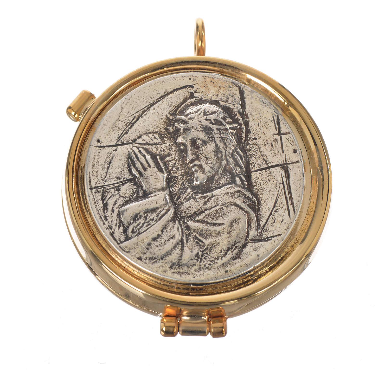 Custode Christ Crucifié diam 5,3 cm 3