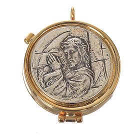 Custode Christ Crucifié diam 5,3 cm s1